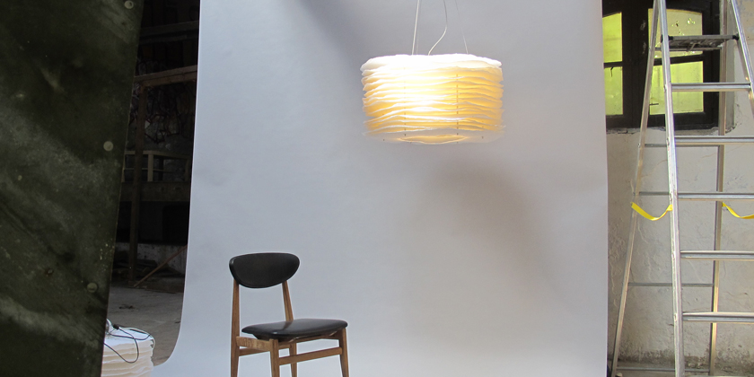 Lampe millefeuille suspension 70